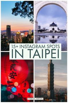 #discoverbooktravel Best Instagram Spots in Taipei #taipei #asia #travel #asiatravel #travelasia