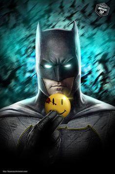 Batman - The Button by Bryanzap.deviantart.com on @DeviantArt