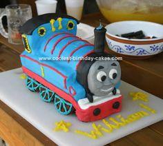Thomas Cake - Adrian's next cake :D