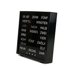 LED Wort Uhr Tischuhr Wanduhr Deutsch Geschenkbox GmbH https://www.amazon.de/dp/B01MQNVI0C/ref=cm_sw_r_pi_dp_x_FKAwybTK9641D