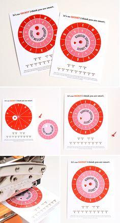 valentine cypher wheel instructions