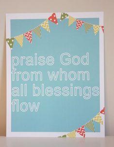 Beautiful banner scripture artwork!