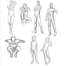 Caroline Haley: 'Action' Poses/Anatomy Study with figure drawing!