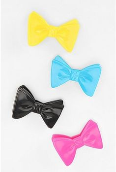 bow tie chip clips