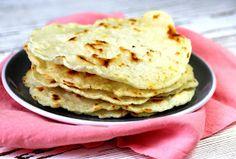 Cooking with Šůša : Domácí rýžová tortilla Bread And Pastries, Raw Vegan, Gluten Free, Ice Cream, Cooking, Breakfast, Healthy, Ethnic Recipes, Desserts