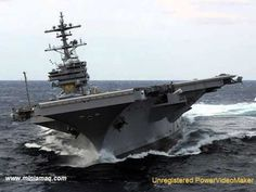 Nuclear-Powered USS Enterprise (CVN-65) On Final Voyage - Super Porta-Aviões dos EUA Missão Final - YouTube