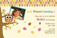 owl invites!