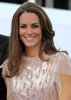 Kate Middleton - Classic long layers and curled ends. I need her hair.  And well style, body, everything..