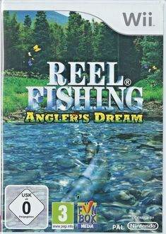 Reel Fishing Angler's Dream (Nintendo Wii) NEW