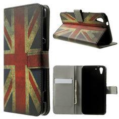 Mesh - HTC Desire Eye Hoesje - Wallet Case Britse Vlag | Shop4Hoesjes