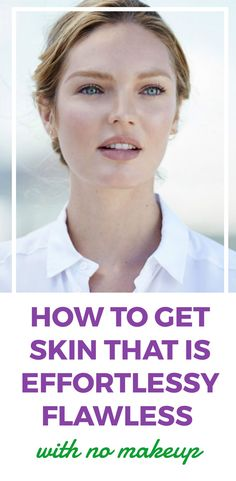 Effortlessly flawless skin with this simple tip
