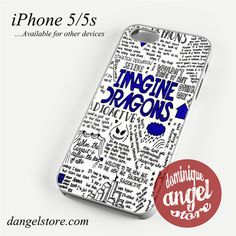 Imagine Dragons Quotes Phone case for iPhone 4/4s/5/5c/5s/6/6 plus