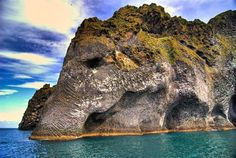8 Pictures of Naturally Erupted Elephant Rock in Heimaey in Iceland!