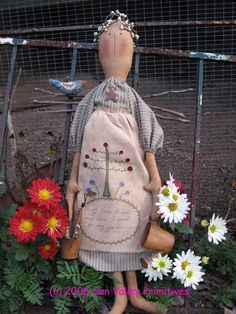 Primitive Doll Pattern