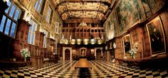 Prodigy houses / Hatfield House, Hertfordshire,1607-12, by Lyminge.  (a prime example of Jacobean architecture.)