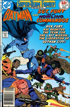 Super-Team Family: The Lost Issues!: Batman and Sgt. Fury & His Howling Commandos