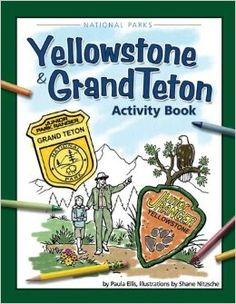 Yellowstone National Park Coloring Page