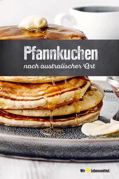 Australische Pfannkuchen Funnel Cake a funnel cake stand Pancake Healthy, Best Pancake Recipe, Aussie Food, Australian Food, Homemade Pancakes, Food Inspiration, Sweet Recipes, Breakfast Recipes, Easy Meals