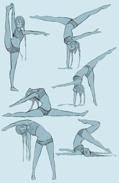 Stretch with lunges and bridges with splits then do these every morning as soon as you get up