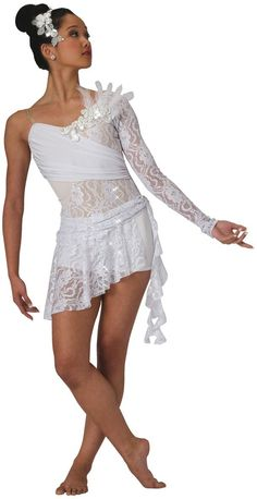 Yes, it's a ballet costume, but I like the different layers of lace; might provide some crafty ideas