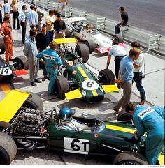 Jackie Ickx ( Brabham-Ford BT26A) vainqueur du Grand Prix d'Allemagne - Nürburgring 1969 -BROOOOM.com.