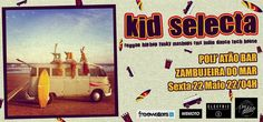 Friday Night in Zambujeira do Mar, Portugal in Poijatão Bar with Dj Kid Selecta spinning vinyl style with #Reggae #HipHop #Funky #RMX #Mashups #IndieDance #NuDisco #TechHouse Meet YOU there * Kid Selecta ( @Electric / Wemoto Clothing / Freewaters Europe ) by: All Brand No Brand / Waves Woods