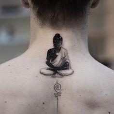 Лучшие тату за март 2018 года от tattoo-sketches.com (60 фото) Buddha Tattoo Design, Buddha Tattoos, Body Tattoos, Sleeve Tattoos, Neck Tattoos, Arm Tattoo, Deep Tattoo, Tattoo Hals, Flower Tattoo Arm