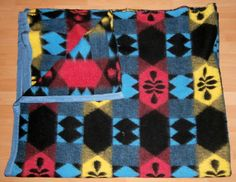 vintage woollen blanket sample from our collection 2014 retro oude wollen deken alte wolldecke