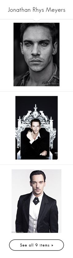 """Jonathan Rhys Meyers"" by amarie104 ❤ liked on Polyvore"