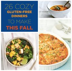 Just make the entire damn thing: 26 Cozy Gluten-Free Dinners To Make This Fall Gf Recipes, Fall Recipes, Gluten Free Recipes, Vegetarian Recipes, Cooking Recipes, Healthy Recipes, Vegetarian Dinners, Dinners To Make, Lunches And Dinners