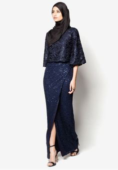 Zalia Crochet Lace Double Layer Dress Online | ZALORA Malaysia