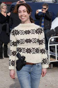 Sophie Grabol: The Killing bosses tried to cut Sarah Lunds jumper - Celebrity News - Showbiz - London Evening Standard