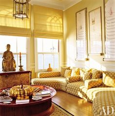 John Stefanidis House On Bosphorus Designer John Stefanidis - Banana mood 27 yellow dipped room designs