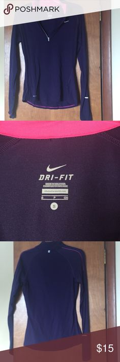 Nike pullover Size small in excellent condition and no thumb holes Nike Tops Sweatshirts & Hoodies