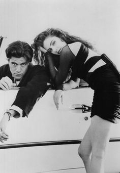 Twin Peaks - Bobby Briggs (Dana Ashbrook) and Shelly Johnson (Mädchen Amick)