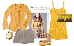 Spring Fashion trend from Tanger Outlets: Yellow is the best way to bring SPRING to your wardrobe!   Shop tax-free in Delaware http://www.visitdelaware.com/listings/Tanger-Outlets/397/0