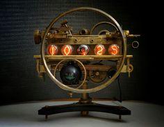 Nixie clock Спутник ИН - 4 GPS