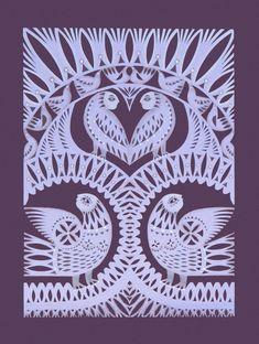 Галерея Paper Cutting Patterns, Polish Folk Art, Paper Cut Design, Quilled Paper Art, Paper Artwork, Primitive Folk Art, Mural Painting, Aboriginal Art, Antique Art
