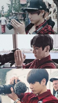 JUNGKOOK the photographer and director~♡