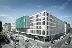 """University Centre """"des Quais"""",© Aldo Amoretti"""