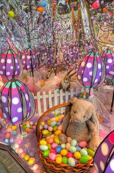 Easter store window .