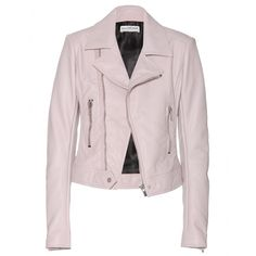 needing this PERFECT blush Balenciaga leather moto. srsly considering splurging. http://www.mytheresa.com/en-us/leather-biker-jacket-284166.html
