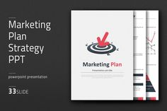 Marketing Plan Strategy PPT Vertical by Good Pello on @creativemarket