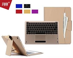iPad Pro Case, FYY [Luxury Gold Keyboard] Magnetically Detachable Wireless Bluetooth Keyboard Leather Case Smart Cover with Note Holder for Apple iPad Pro 12.9 (2015) Gold FYY http://www.amazon.com/dp/B015CEZXQY/ref=cm_sw_r_pi_dp_f4JQwb1HQ94DZ