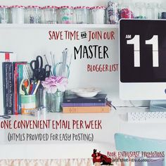 Master Promotional Event Sign Up  http://eepurl.com/bNgMur