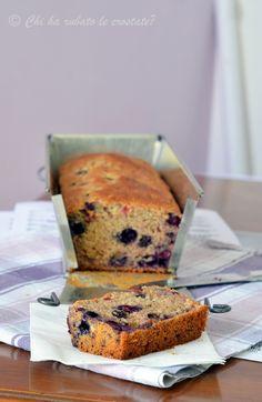 Chi ha rubato le crostate? : » Vegan Banana Bread (with Blueberries)