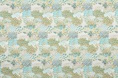Feather Fans - Robert Allen Fabrics Viridian