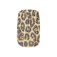 Cheetah Print Bling Minx Nails Minx Nail Wraps - girl gifts special unique diy gift idea