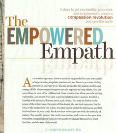 Spirituality & Health: The Empowered Empath