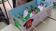 "Father's day present '14 Table football: Art Project (5th & 6th grade) CEIP ""Divina Pastora"" Manzanares"